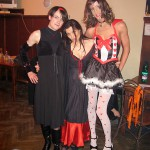 Halloween party s Tinkou a pani Woolfovou :)