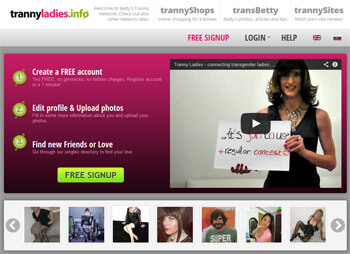 Tranny Ladies - transgender dating & community