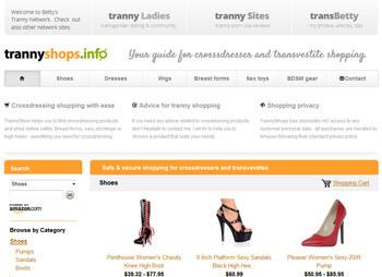 Tranny Shops -  online nakupovanie pre transky